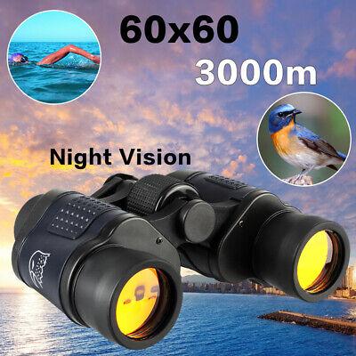 Fernglas Feldstecher 60x60 3000M Nachtsicht Fernrohr Binoculars Ferngläser Zoom