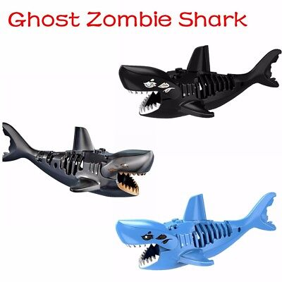 Pirates Of The Caribbean Zombie Sharks  Mini Figures Use With lego Jack Sparrow