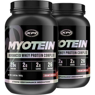 Myotein Protein Chocolate 2LB (2 Pack) - Best Whey Protein (Best Chocolate Whey Protein)
