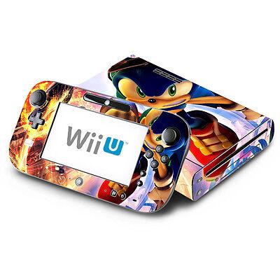 - Sonic The Hedgehog - Nintendo Wii U & GamePad Skin Decal Sticker Vinyl Wrap