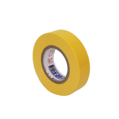 1yellow Electrical Tape Insulation Tape Pvc Waterproof Tape Width 10mm Long 18m