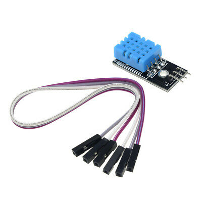 Dht11 Temperature And Relative Humidity Sensor Module For Arduino With Cable
