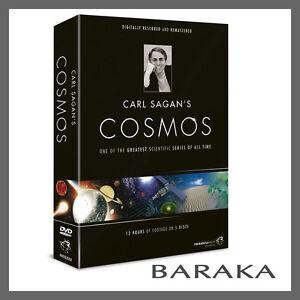Carl Sagan's Cosmos DVD Region 4/Aus Digitally Remastered New Sealed