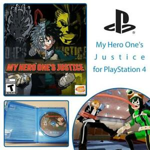NEW My Hero Ones Justice for PlayStation 4 Condtion: New