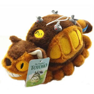 Anime Studio Ghibli My Neighbor Totoro Cat Bus Plush Toy Soft Stuffed Doll Kids