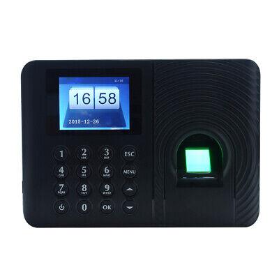 A3 2.4 Tft Biometric Fingerprint Attendance Time Clock Employee Recorder P7y0
