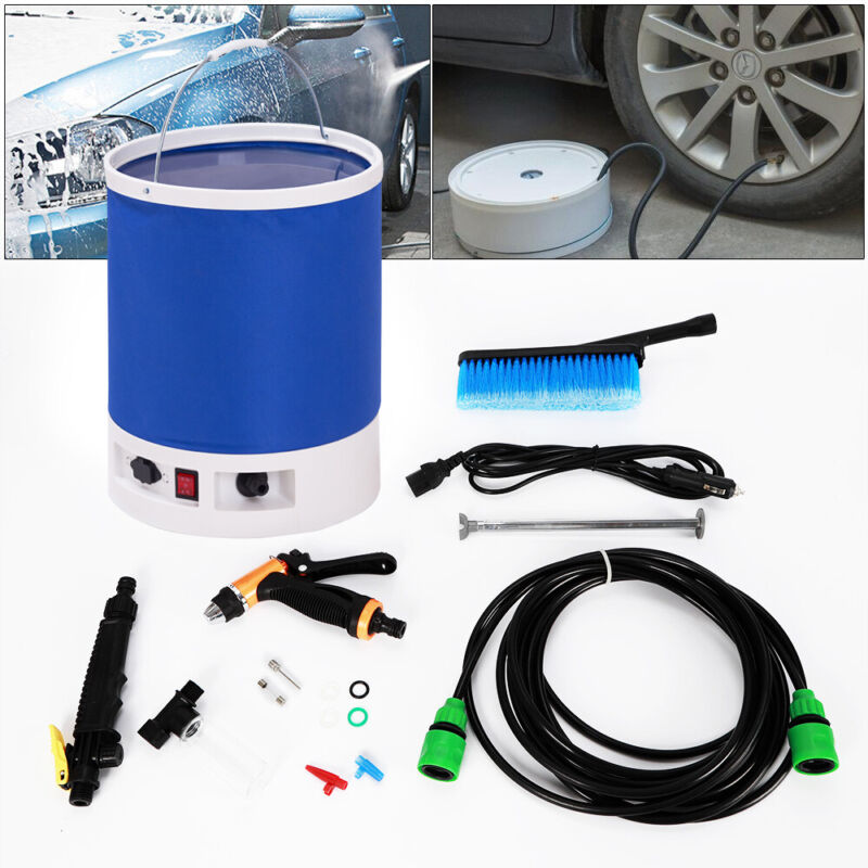 Car Clean Vehicle Cleaning Tool Portable Electric Car Washer Sprayer Gun 12V