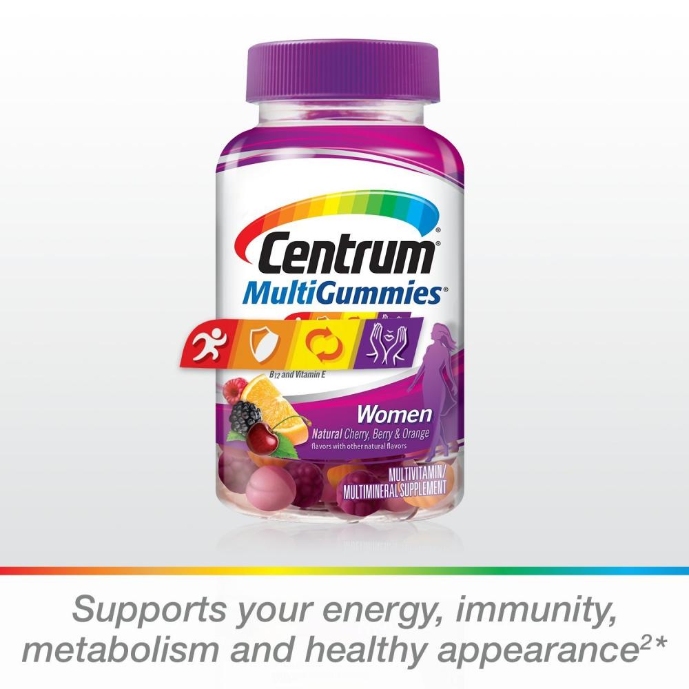 Centrum Women MultiGummies  Multivitamin / Multimineral Supp