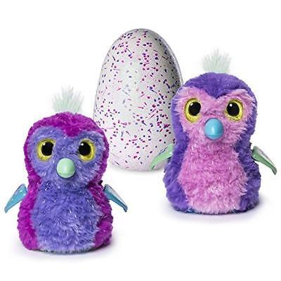 Hatchimals pinguino Glitter, Colori Assortiti colori ass, - Pengualas 6037399