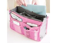 Womans' travel handbag purse organiser