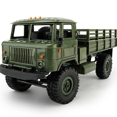 WPL 1:16 2.4G RC Crawler Military Truck Assemble Kit Remote Control Vehicle Toy
