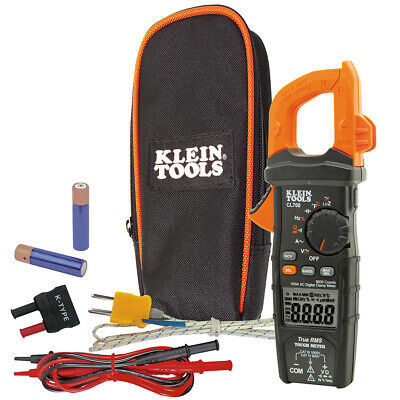 Klein Tools 600A AC Auto-Ranging Digital Clamp Meter w/ pouch (CL700)