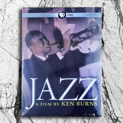 Jazz A Film By Ken Burns PBS 10-Disc DVD Boxed Set Brand New Fast shipping