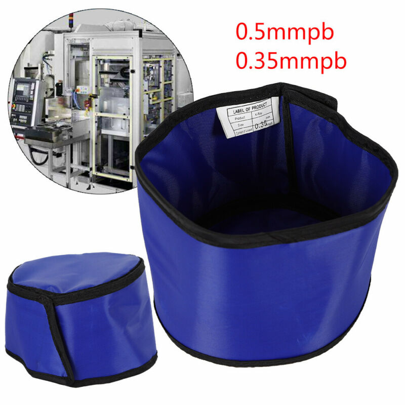 New X-Ray Shield Head Protection Soft Lead Cap Radiation Safety Blue Hat 0.5mmpb