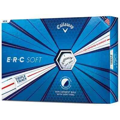 Callaway ERC Soft Golfball Golfbälle mit Triple Track Touball Gelb und Weiß