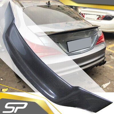 Carbon Fiber Spoiler Heckspoiler Flügel für Mercedes Benz CLA C117 CLA45 AMG