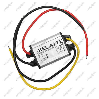 Waterproof Converter 12v To Dc 6v Step Down Volt Module Power Supply 3a 18w New