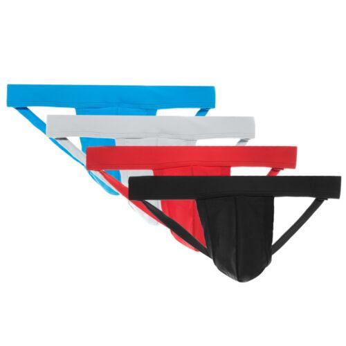 enV Men's Athletic Supporter Performance Jockstrap Underwear – Different Colors