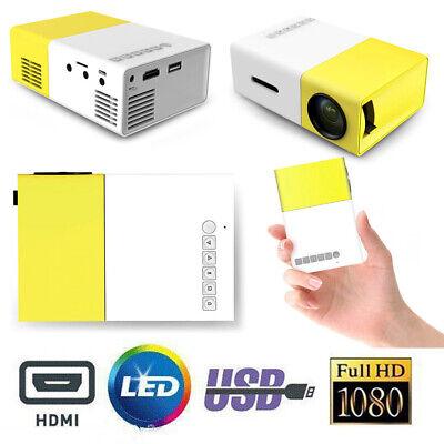 YG300 Mini LED HD Projector Home USB HDMI Portable Cinema Theater for IOS Adroid