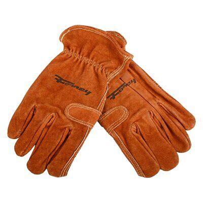 Forney 53172 Premium Cowhide Leather Fencer Work Mens Gloves