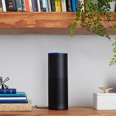 Der Amazon Echo kostet derzeit 180 Euro, das Google Gadget soll günstiger werden. (© Amazon)
