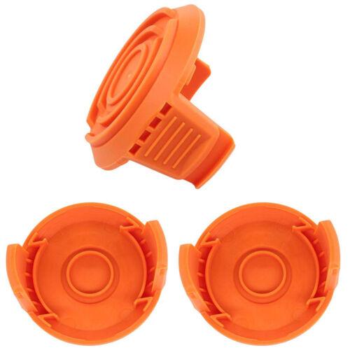 3pc Spool Cap Cover for Worx Trimmers GT WA6531 WG150 WG151 WG155 WG160 WG165 US