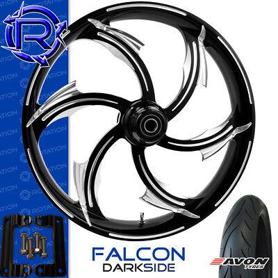 Rotation Falcon DarkSide Motorcycle Wheel Kawasaki Vaquero Vulcan Package 21