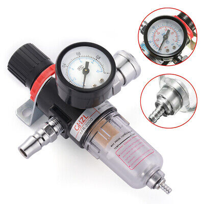 14 Air Compressor Regulator Pressure Gauge Water Moisture Trap Filter Hs1410