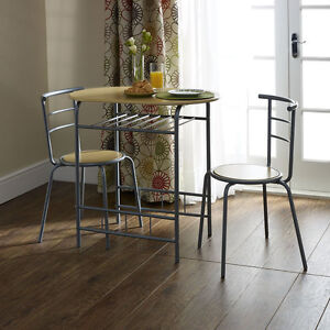 small dining table and chairs modern oval bistro set small breakfast kitchen - Breakfast Table With Chairs