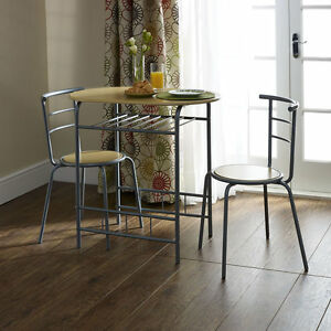 Merveilleux Small Dining Table And Chairs Modern Oval Bistro Set Small Breakfast Kitchen