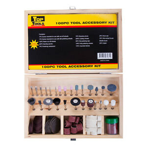 100Pc Rotary Tool Accessory Set Suit Dremel 1/8