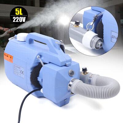 Pulverizador de mochila 5L eléctrica ULV Nebulizador de máquina de desinfección