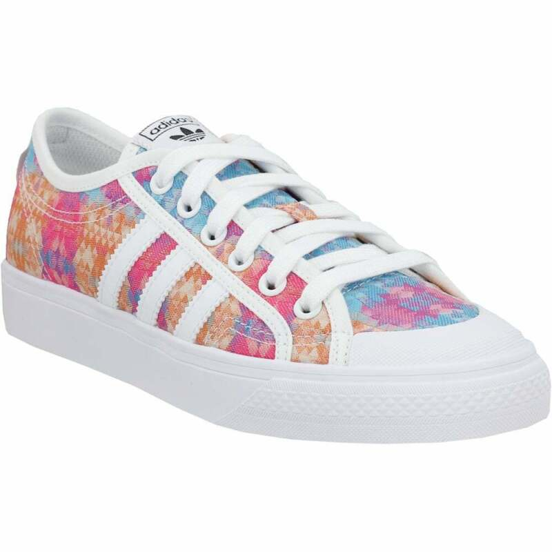 adidas Nizza Lace Up    Kids Girls  Sneakers Shoes Casual   - Multi