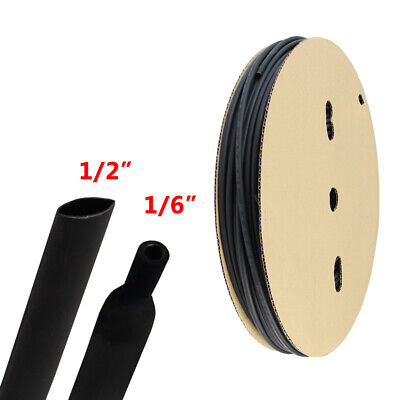 Adhesive Glue Lined Polyolefin 31 Heat Shrink Tubing Black 12 I.d 120