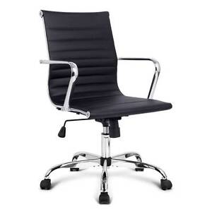 SALE:  Eames Replica PU Leather High Back Executive Computer Off Melbourne CBD Melbourne City Preview