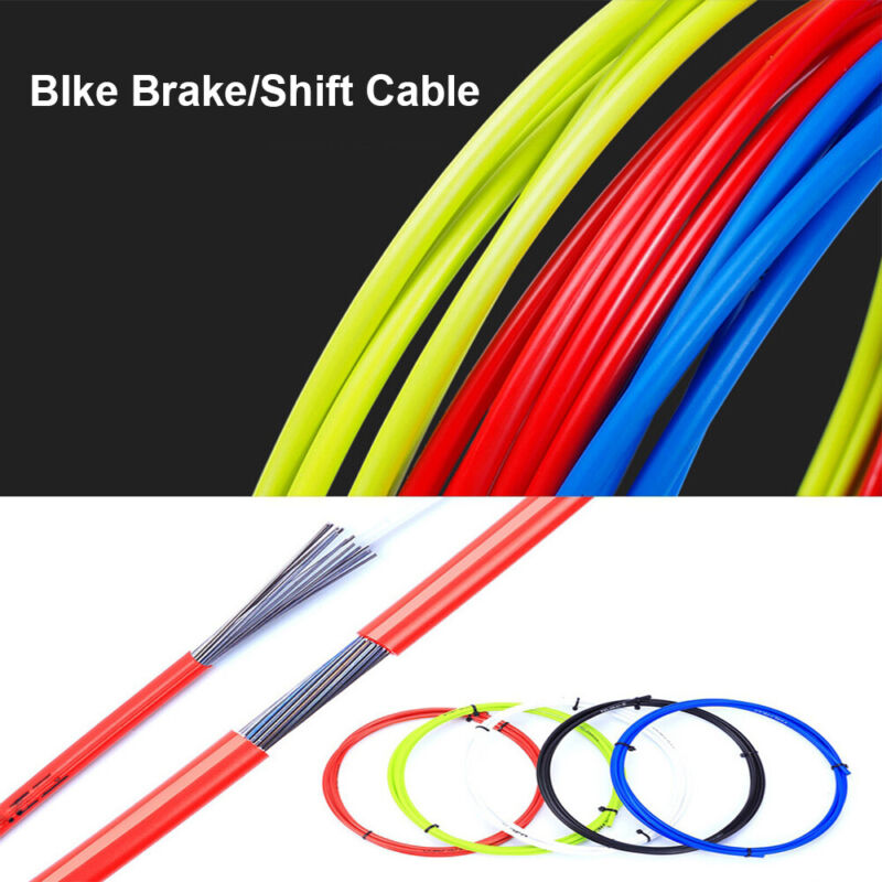 MTB Road Bicycle Brake Cables Bike Shifters Shift Cable Wire Derailleur Cable