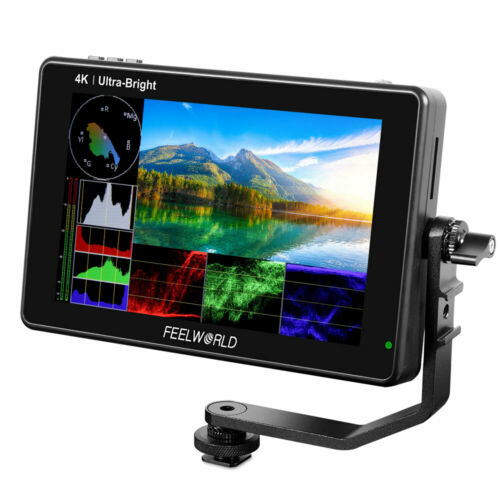 FEELWORLD LUT7S PRO 7 Inch 2200nit Field Monitor 4K HDMI 3D LUT HDR Touch Screen