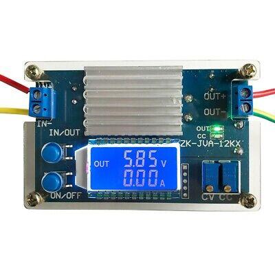 12a Step Down Power Supply Module Lcd Adjustable Buck Adapter Cvcc Converter