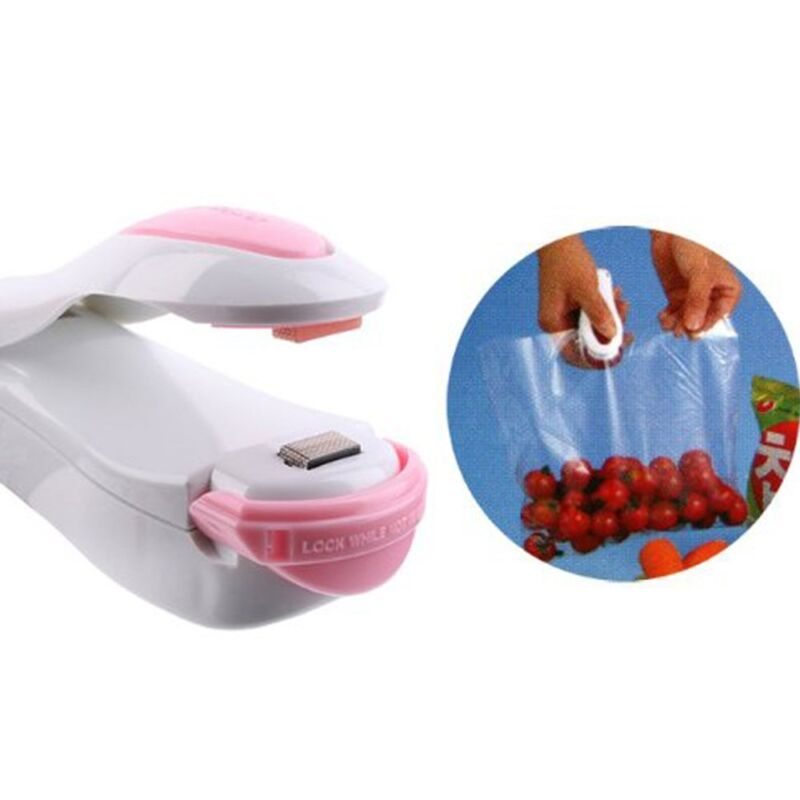 Portable Mini Heat Sealing Machine Impulse Seal Packing Plastic Bag Sealer