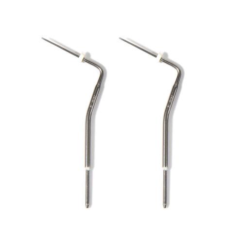 2* KD Dental Obturation Endodontic Pen Heated Tips Needles Gutta Percha White-F