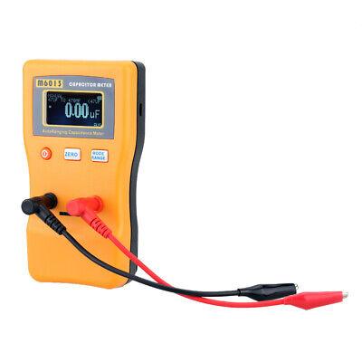 M6013 Esr Capacitor Meter Capacitance Resistance Circuit Tester Test Clips S5i4