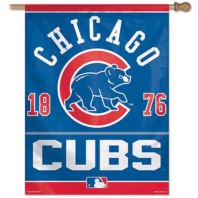 MLB Chicago Cubs Vertical Flag 27