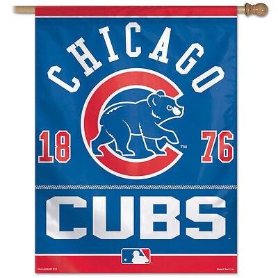 MLB Chicago Cubs Vertical Flag 27