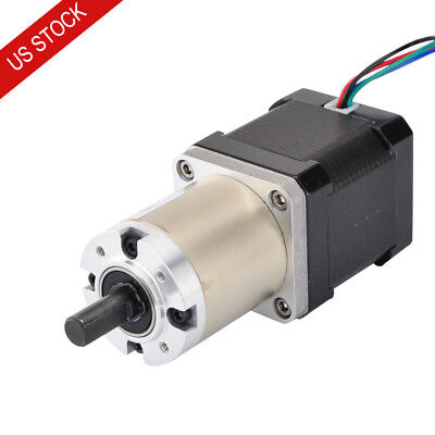 Us Ship 1001 Planetary Gearbox High Torque Nema 17 Stepper Cnc Robot 3d Printer