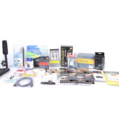 Lot of Digital Photography Assorted Accessories(Camera & Photo Accessories)(AI)