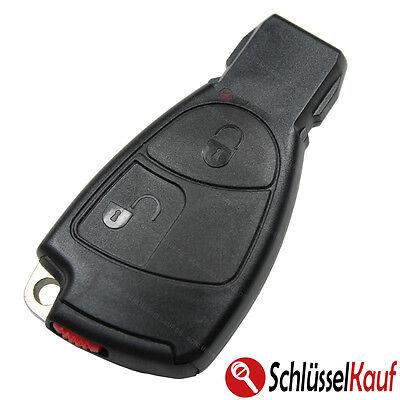 Autoschlüssel Gehäuse Set NEU passend für Mercedes W169 W202 W203 W208 W210 W211