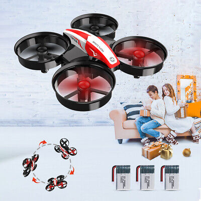 Holy Stone HS210 Mini Drone RC quadcopter for kids 3D Flip 3 battery auto hover