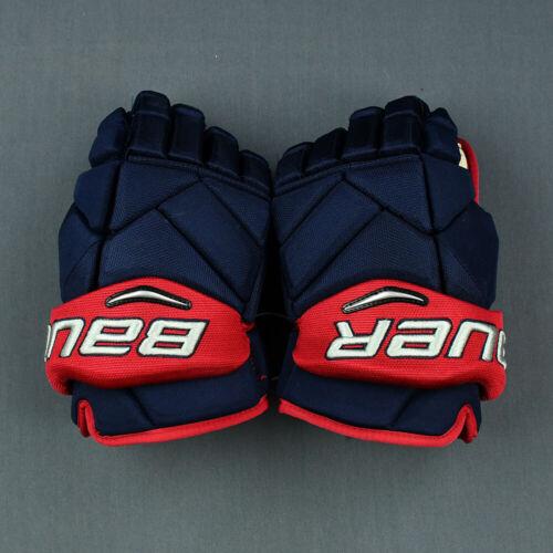 "Lightly Used Bauer Vapor 1X Anthony Duclair Pro Stock 14"" Hockey Gloves! CBJ NHL"
