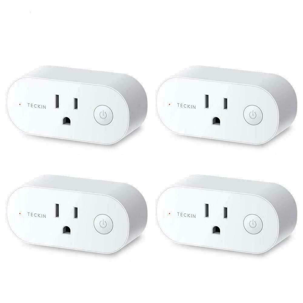 TECKIN 16A SP20 Wi-Fi Smart Plug Outlet Compatible With Alex