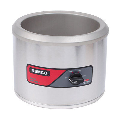 Nemco 6101a 11qt Counter Top Round Warmer 750w